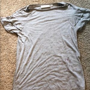 A short sleeve blouse